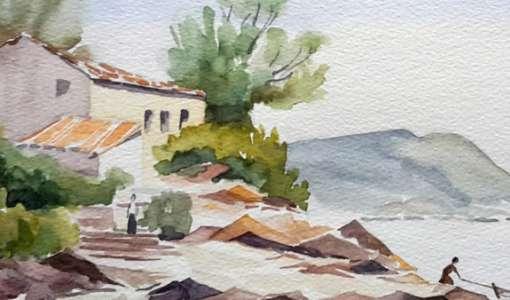 Aquarellieren in und um Kloster Seeon