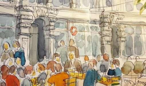 Urban Sketching: Mit dem Skizzenbuch das Chiemgau entdecken